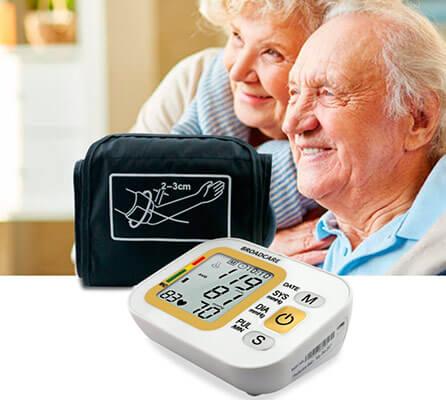 mejores tensiómetros digitales de brazo y muñeca BROADCARE
