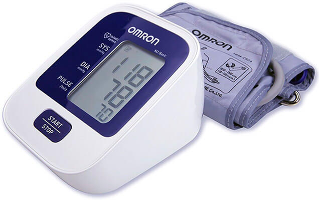 mejores tensiómetros digitales de brazo y muñeca OMRON M2 Basic