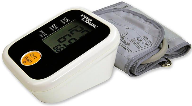 mejores tensiómetros digitales de brazo y muñeca Pro Logic PL100