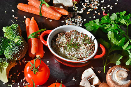 dieta para después de navidad y año nuevo arroz y legumbres