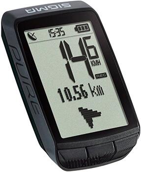 Mejor ciclocomputador calidad precio Sigma Pure GPS