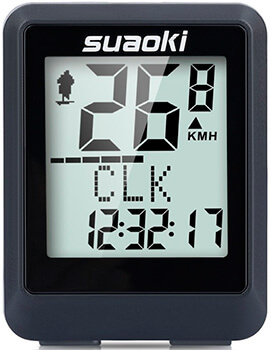 Mejor ciclocomputador calidad precio Suaoki 9500