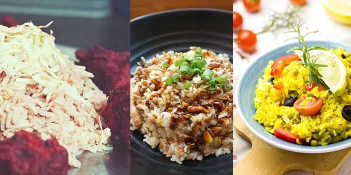 Platos de arroz que puedes preparar con una arrocera eléctrica