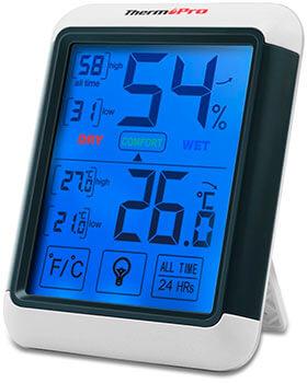 El mejor higrómetro digital ThermoPro TP55