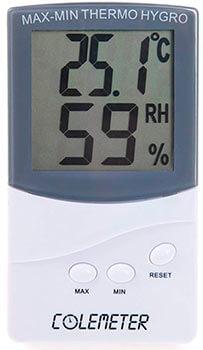 Higrómetro digital Colemeter BEC327