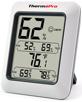 Higrómetro digital ThermoPro