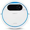 Robot friegasuelos Deebot 300 de forma redonda y color blanco con bordes azules