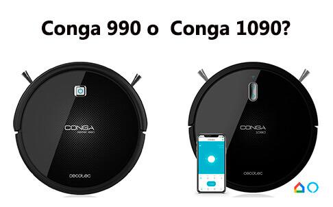 Comparativa Conga 990 y 1090
