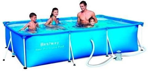 Piscina desmontable barata Bestway 1200Lt Splash Fp