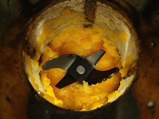 Naranjas licuadas sin pulpa