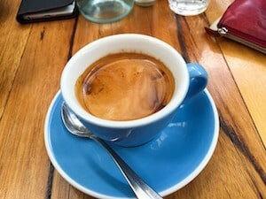 Taza de café americano