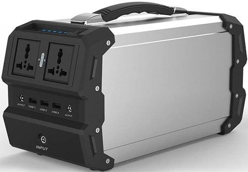 Generador Solar portátil TOPQSC con AC DC Inverter TOPQSC