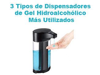 Dispensador de gel hidroalcohólico