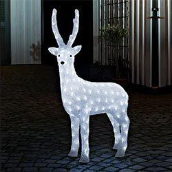 Figura LED Reno de pie